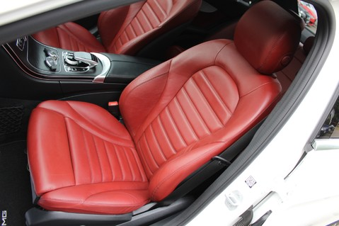 Mercedes-Benz C Class C250 D AMG LINE PREMIUM PLUS-EURO6- AIRMATIC -RED LEATHER-360 CAMERAS -LEDS 25