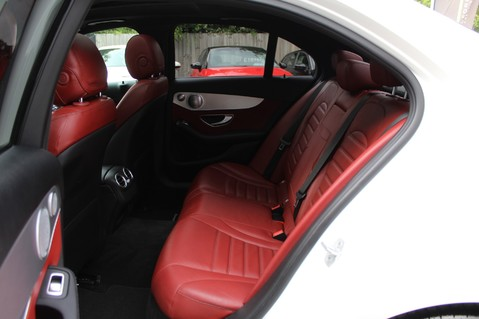 Mercedes-Benz C Class C250 D AMG LINE PREMIUM PLUS-EURO6- AIRMATIC -RED LEATHER-360 CAMERAS -LEDS 31
