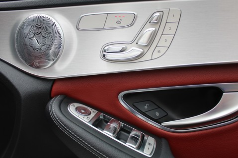 Mercedes-Benz C Class C250 D AMG LINE PREMIUM PLUS-EURO6- AIRMATIC -RED LEATHER-360 CAMERAS -LEDS 42
