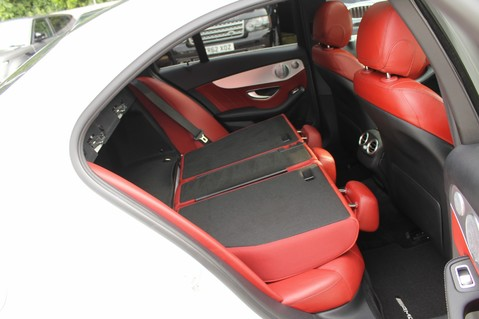 Mercedes-Benz C Class C250 D AMG LINE PREMIUM PLUS-EURO6- AIRMATIC -RED LEATHER-360 CAMERAS -LEDS 73