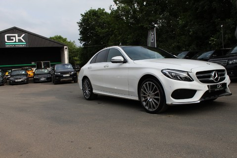 Mercedes-Benz C Class C250 D AMG LINE PREMIUM PLUS-EURO6- AIRMATIC -RED LEATHER-360 CAMERAS -LEDS 77