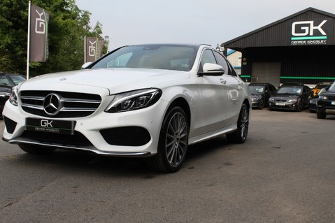 Mercedes-Benz C Class C250 D AMG LINE PREMIUM PLUS-EURO6- AIRMATIC -RED LEATHER-360 CAMERAS -LEDS 78