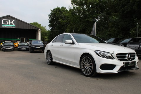 Mercedes-Benz C Class C250 D AMG LINE PREMIUM PLUS-EURO6- AIRMATIC -RED LEATHER-360 CAMERAS -LEDS 81