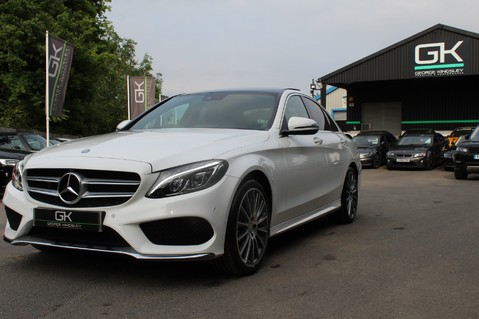 Mercedes-Benz C Class C250 D AMG LINE PREMIUM PLUS-EURO6- AIRMATIC -RED LEATHER-360 CAMERAS -LEDS 82