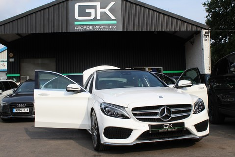 Mercedes-Benz C Class C250 D AMG LINE PREMIUM PLUS-EURO6- AIRMATIC -RED LEATHER-360 CAMERAS -LEDS 94