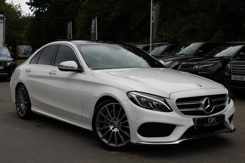Mercedes-Benz C Class C250 D AMG LINE PREMIUM PLUS-EURO6- AIRMATIC -RED LEATHER-360 CAMERAS -LEDS 1