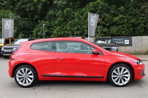 Volkswagen Scirocco GT TSI BLUEMOTION TECH - SATNAV - DAB - BLUETOOTH - TWO OWNERS - FSH 4