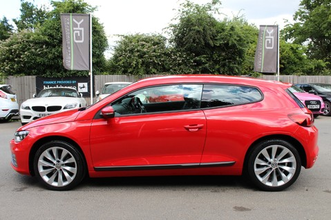 Volkswagen Scirocco GT TSI BLUEMOTION TECH - SATNAV - DAB - BLUETOOTH - TWO OWNERS - FSH 8