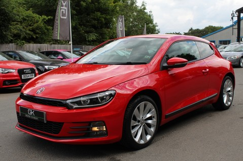 Volkswagen Scirocco GT TSI BLUEMOTION TECH - SATNAV - DAB - BLUETOOTH - TWO OWNERS - FSH 9