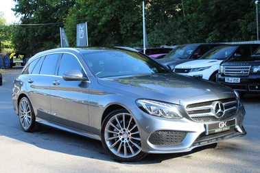Mercedes-Benz C Class C200 D AMG LINE PREMIUM PLUS - AIRMATIC - PAN ROOF - BURMESTER - COMAND
