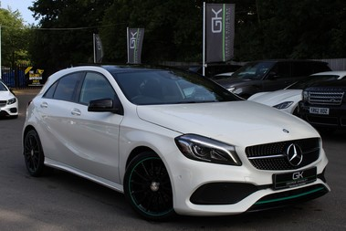 Mercedes-Benz A Class A 220 D MOTORSPORT EDITION PREMIUM - PAN ROOF/REVERSE CAM/HARMAN-KARDON