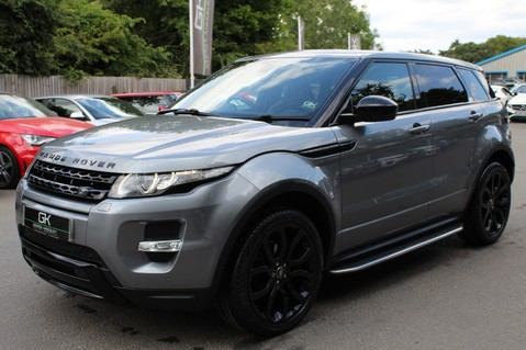 Land Rover Range Rover Evoque SD4 DYNAMIC 9 SPEED - RARE WING BACK BUCKET SEATS OPTION -HEATED REAR SEATS 8