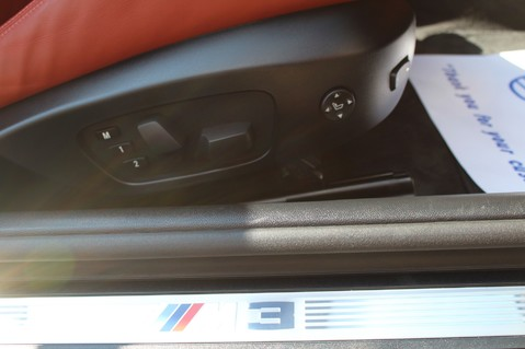 BMW M3 M3 DCT- M PERFORMANCE EXHAUST/14K EXTRAS/EDC/19S/PRO MEDIA/TV/DAB/HIGH BEAM 50