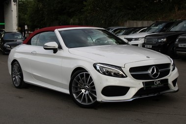 Mercedes-Benz C Class C 250 D AMG LINE PREMIUM PLUS -EURO 6- RED ROOF/LEATHER- BIG SPEC