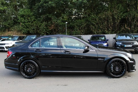 Mercedes-Benz C Class C63 AMG - 2 TONE LEATHER/LANE+BLIND SPOT ASSIST/DAB RADIO/FULL MERC S/HIST/ 4