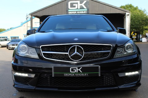 Mercedes-Benz C Class C63 AMG - 2 TONE LEATHER/LANE+BLIND SPOT ASSIST/DAB RADIO/FULL MERC S/HIST/ 13