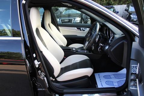 Mercedes-Benz C Class C63 AMG - 2 TONE LEATHER/LANE+BLIND SPOT ASSIST/DAB RADIO/FULL MERC S/HIST/ 45