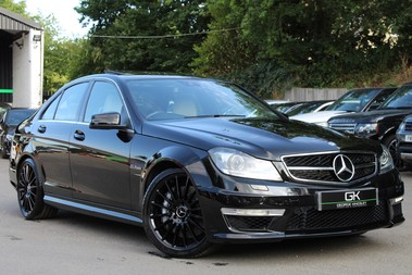 Mercedes-Benz C Class C63 AMG - 2 TONE LEATHER/LANE+BLIND SPOT ASSIST/DAB RADIO/FULL MERC S/HIST/