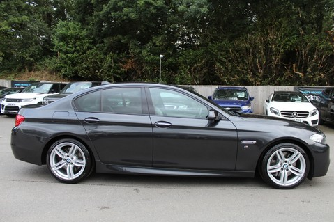 BMW 5 Series 530D M SPORT - EURO 6 -PLUS PACK/CAMERA/SILK GREY LEATHER - £6.5K EXTRAS 2