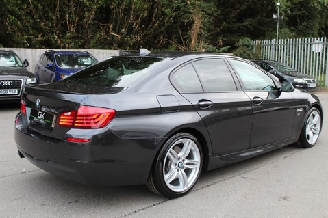 BMW 5 Series 530D M SPORT - EURO 6 -PLUS PACK/CAMERA/SILK GREY LEATHER - £6.5K EXTRAS 3