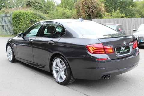 BMW 5 Series 530D M SPORT - EURO 6 -PLUS PACK/CAMERA/SILK GREY LEATHER - £6.5K EXTRAS 5