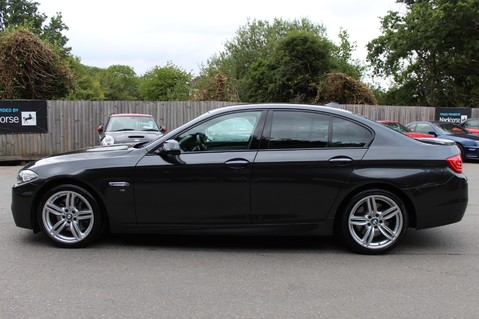 BMW 5 Series 530D M SPORT - EURO 6 -PLUS PACK/CAMERA/SILK GREY LEATHER - £6.5K EXTRAS 6