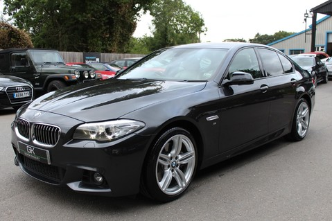 BMW 5 Series 530D M SPORT - EURO 6 -PLUS PACK/CAMERA/SILK GREY LEATHER - £6.5K EXTRAS 7