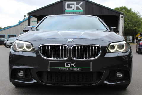 BMW 5 Series 530D M SPORT - EURO 6 -PLUS PACK/CAMERA/SILK GREY LEATHER - £6.5K EXTRAS 8