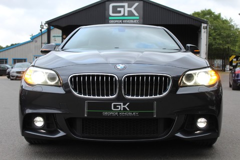 BMW 5 Series 530D M SPORT - EURO 6 -PLUS PACK/CAMERA/SILK GREY LEATHER - £6.5K EXTRAS 9