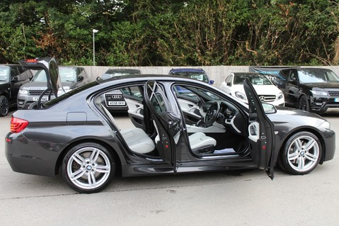 BMW 5 Series 530D M SPORT - EURO 6 -PLUS PACK/CAMERA/SILK GREY LEATHER - £6.5K EXTRAS 65