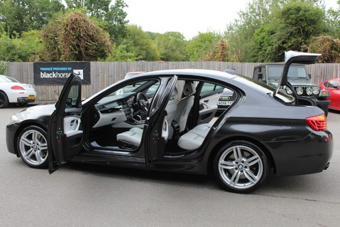 BMW 5 Series 530D M SPORT - EURO 6 -PLUS PACK/CAMERA/SILK GREY LEATHER - £6.5K EXTRAS 66