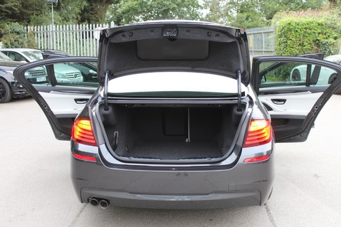 BMW 5 Series 530D M SPORT - EURO 6 -PLUS PACK/CAMERA/SILK GREY LEATHER - £6.5K EXTRAS 67