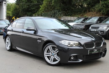 BMW 5 Series 530D M SPORT - EURO 6 -PLUS PACK/CAMERA/SILK GREY LEATHER - £6.5K EXTRAS