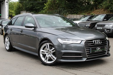 Audi A6 AVANT TDI QUATTRO S LINE -PAN ROOF/TECH PK/BOSE/HANDSFREE BOOT/19S/BIG SPEC