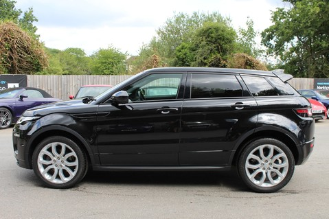 Land Rover Range Rover Evoque TD4 HSE DYNAMIC 4WD -EURO6/PAN ROOF/14 WAY SEATS/LANE ASSIST/NAV/DAB/CRUISE 7