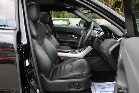 Land Rover Range Rover Evoque TD4 HSE DYNAMIC 4WD -EURO6/PAN ROOF/14 WAY SEATS/LANE ASSIST/NAV/DAB/CRUISE 37