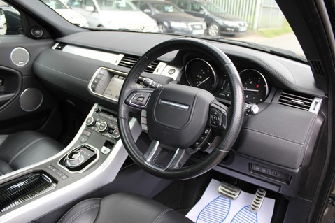 Land Rover Range Rover Evoque TD4 HSE DYNAMIC 4WD -EURO6/PAN ROOF/14 WAY SEATS/LANE ASSIST/NAV/DAB/CRUISE 38