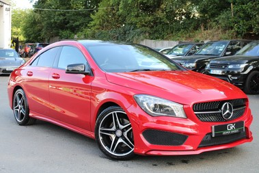 Mercedes-Benz Cla Class CLA220 CDI AMG SPORT - NIGHT PACK - SAT NAV - FULL MERCEDES HISTORY