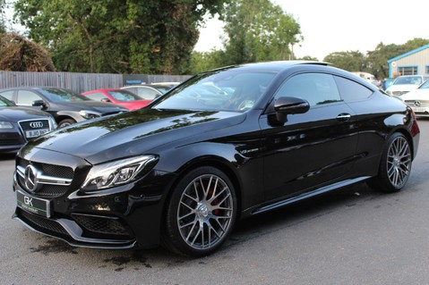 Mercedes-Benz C Class AMG C 63 S PREMIUM - DISTRONIC/HEAD UP/360 CAM/CARBON FIBRE/NIGHT PK/LANE A 9
