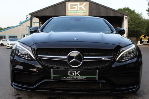 Mercedes-Benz C Class AMG C 63 S PREMIUM - DISTRONIC/HEAD UP/360 CAM/CARBON FIBRE/NIGHT PK/LANE A 10