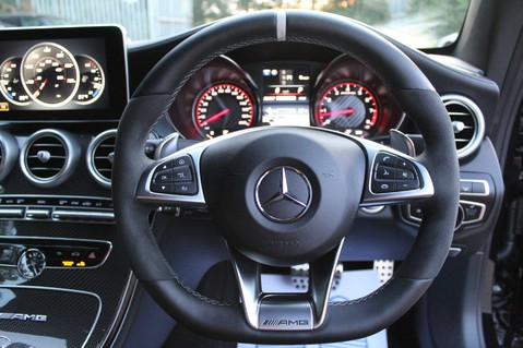 Mercedes-Benz C Class AMG C 63 S PREMIUM - DISTRONIC/HEAD UP/360 CAM/CARBON FIBRE/NIGHT PK/LANE A 53