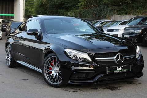 Mercedes-Benz C Class AMG C 63 S PREMIUM - DISTRONIC/HEAD UP/360 CAM/CARBON FIBRE/NIGHT PK/LANE A 1