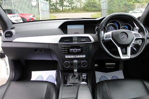 Mercedes-Benz C Class C63 AMG - 510 BHP - DIAMOND WHITE/HARMAN KARDON/PAN ROOF/DAB/COMAND -FMBSH 12