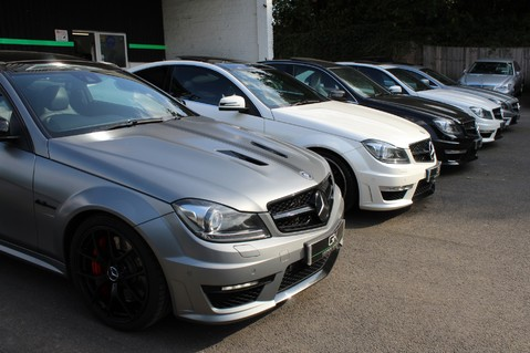 Mercedes-Benz C Class C63 AMG - 510 BHP - DIAMOND WHITE/HARMAN KARDON/PAN ROOF/DAB/COMAND -FMBSH 82