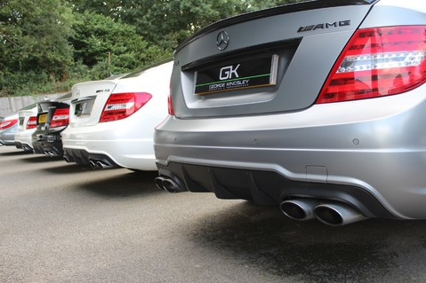Mercedes-Benz C Class C63 AMG - 510 BHP - DIAMOND WHITE/HARMAN KARDON/PAN ROOF/DAB/COMAND -FMBSH 85