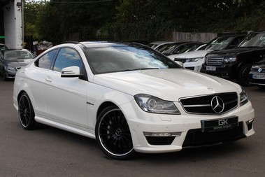 Mercedes-Benz C Class C63 AMG - 510 BHP - DIAMOND WHITE/HARMAN KARDON/PAN ROOF/DAB/COMAND -FMBSH