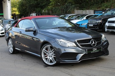Mercedes-Benz E Class E 350 D AMG LINE EDITION -EURO 6- RED ROOF - COMAND/19 INCH ALLOYS/ILS LEDS