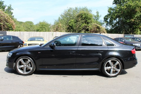 Audi A4 TFSI BLACK EDITION AUTO - HEATED LEATHER/DAB/BANG+OLUFSEN/XENONS - F/A/S/H 7