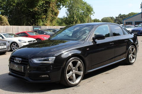 Audi A4 TFSI BLACK EDITION AUTO - HEATED LEATHER/DAB/BANG+OLUFSEN/XENONS - F/A/S/H 8