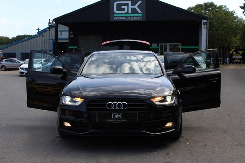Audi A4 TFSI BLACK EDITION AUTO - HEATED LEATHER/DAB/BANG+OLUFSEN/XENONS - F/A/S/H 16